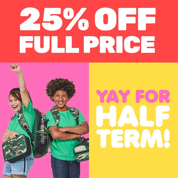 Get set with 25% off at Smiggle