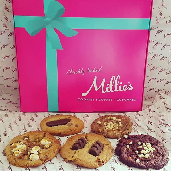 Millie's deliver sweetness