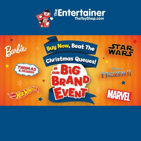Big Brand Event at The Entertainer