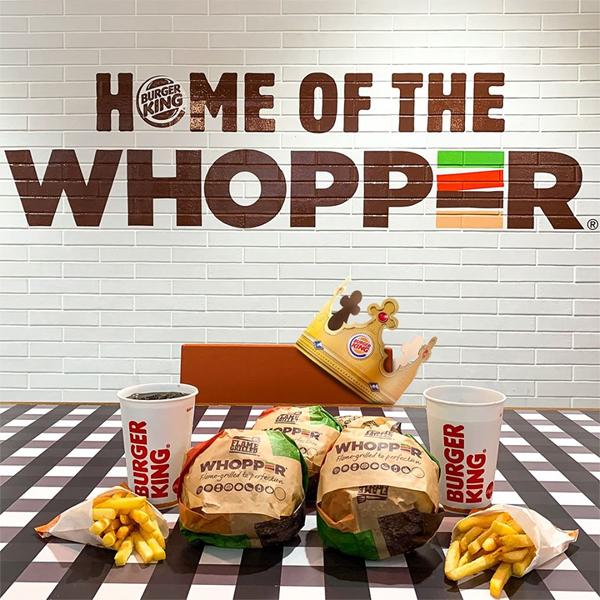 Burger King delivers