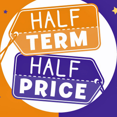 Half term is half price at The Entertainer