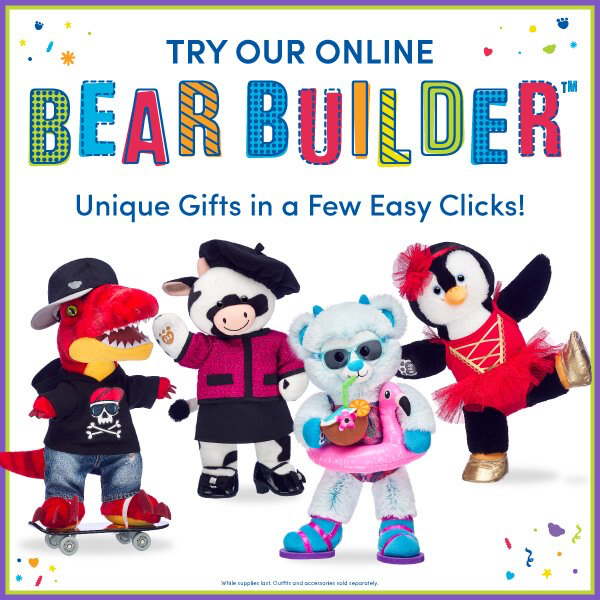 Try Bear-Builder from Build-A-Bear