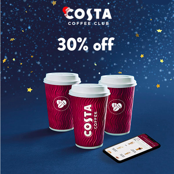 Pre-order and save at Costa