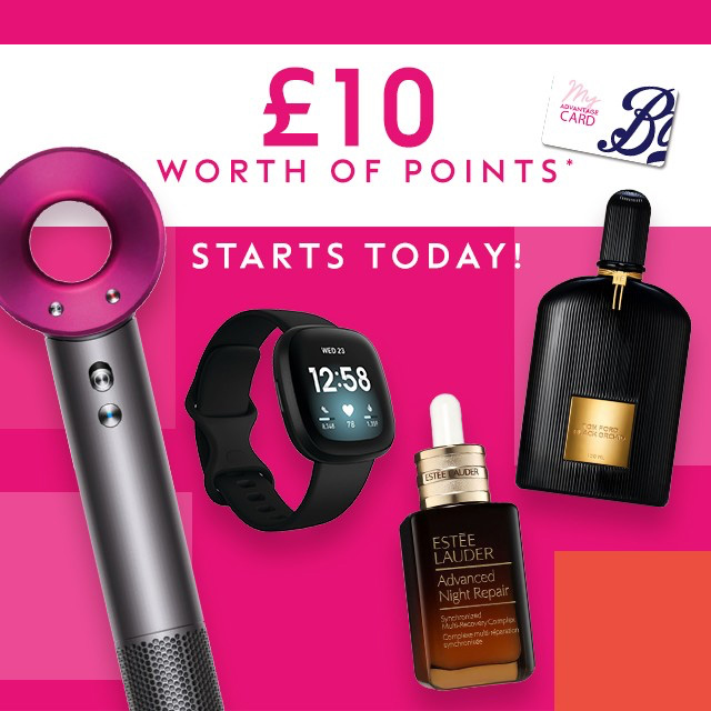 Pick up more Points at Boots