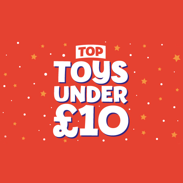 The Entertainer has toys under £10