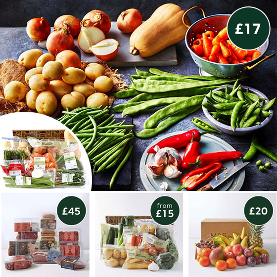 Discover M&S Food Boxes