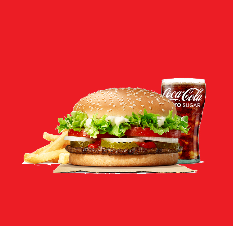 Fuel your hunger at Burger King