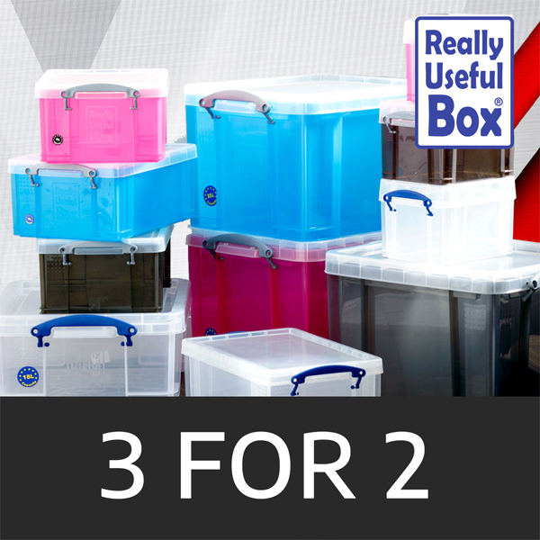 Get organised with 3 for 2 at Ryman