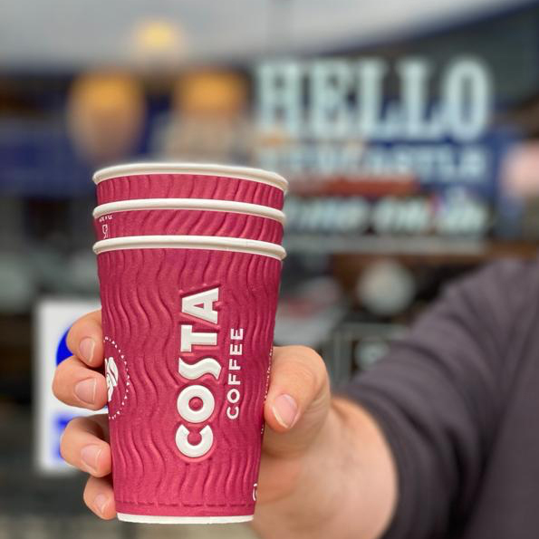 Costa gives coffee with care