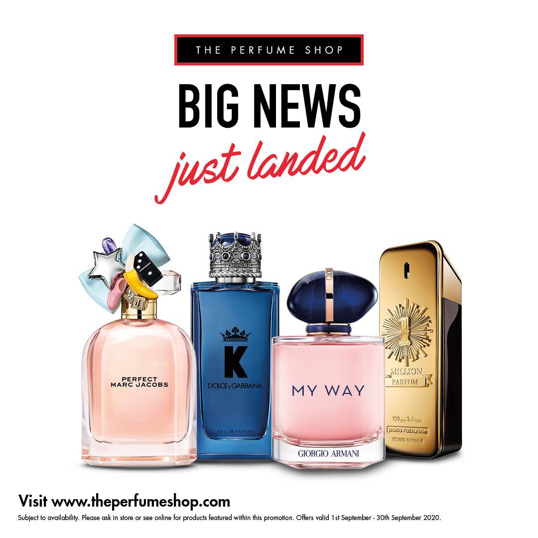 Shop big at The Perfume Shop
