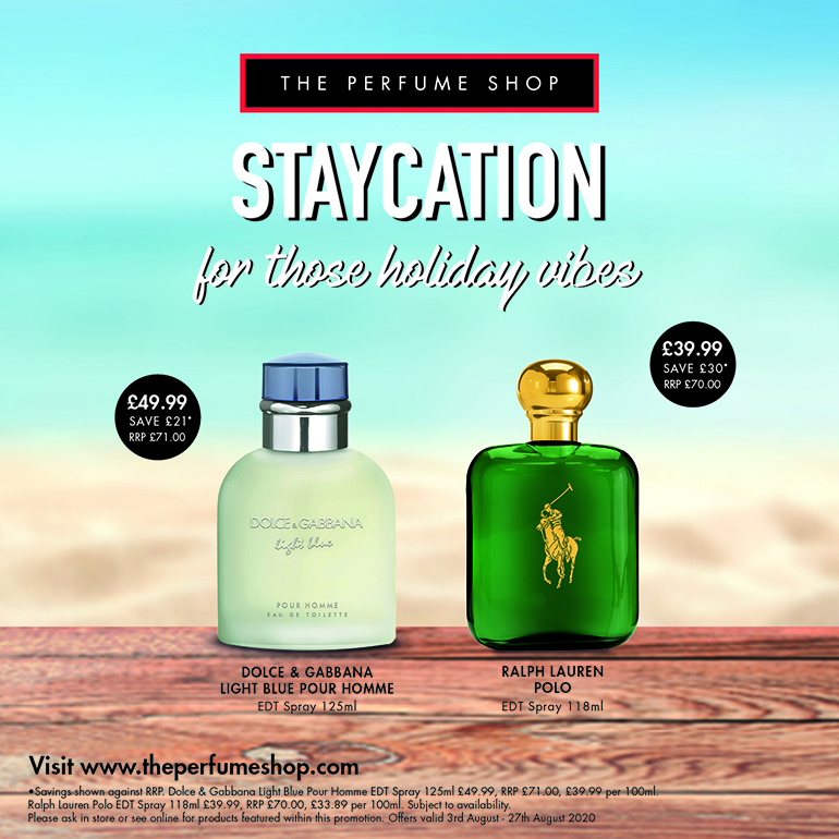 Staycation with The Perfume Shop
