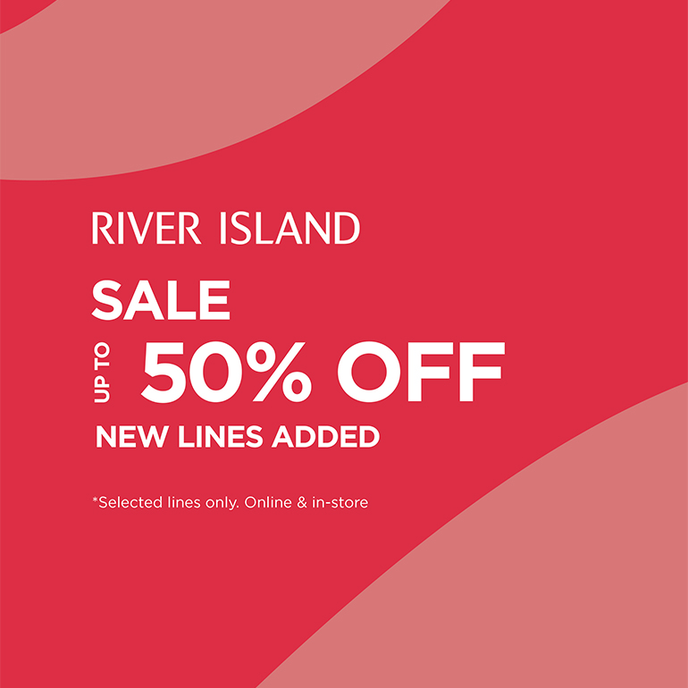 Stop by the River Island Sale