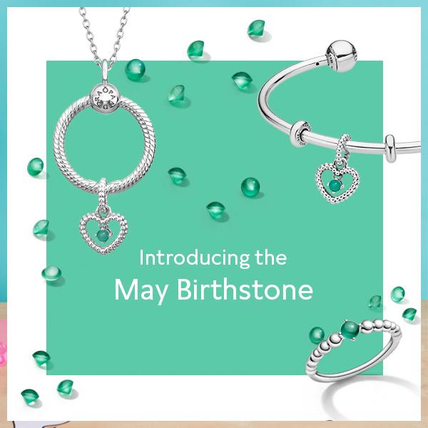 Celebrate a May birthday with Pandora