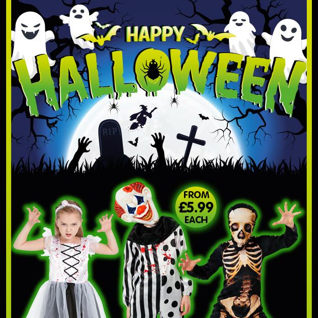 Halloween at Poundstretcher