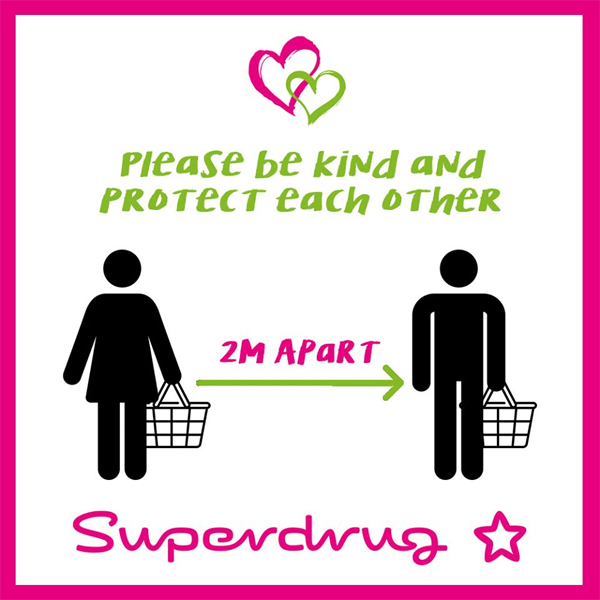 Stay safe with Superdrug