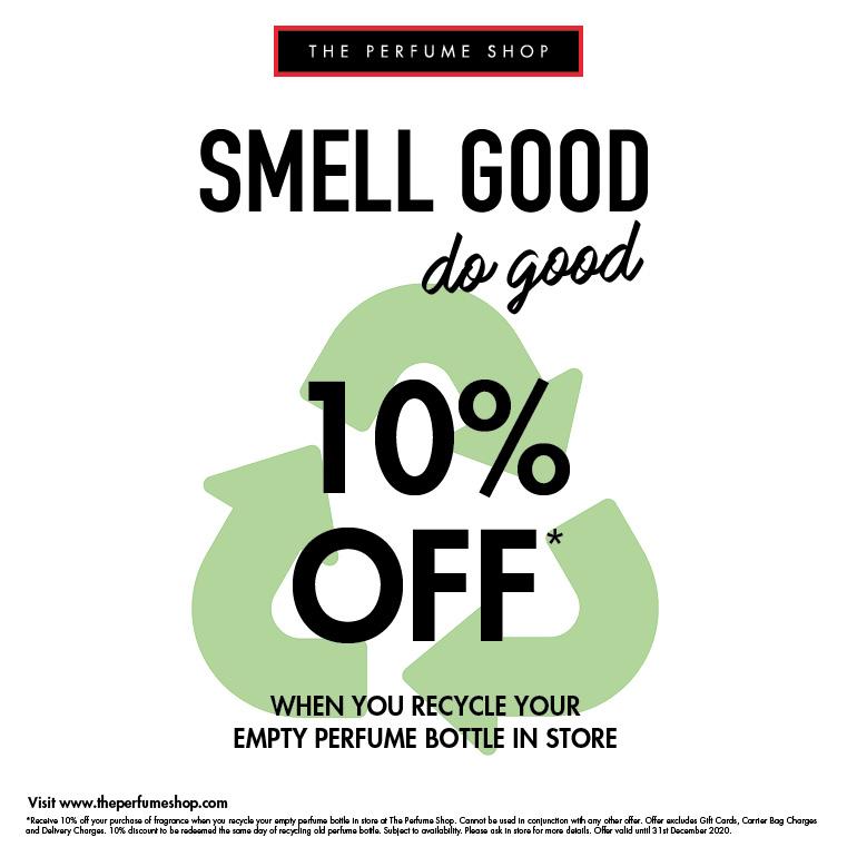 Do good at The Perfume Shop