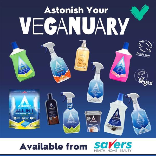 Astonish your Veganuary at Savers