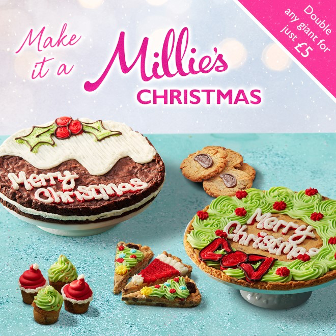 Make it a Millie's Christmas