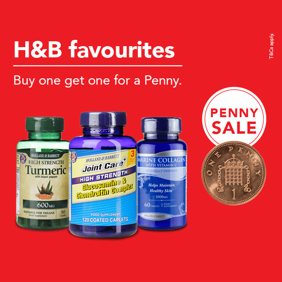 The Penny Sale is back at H&B