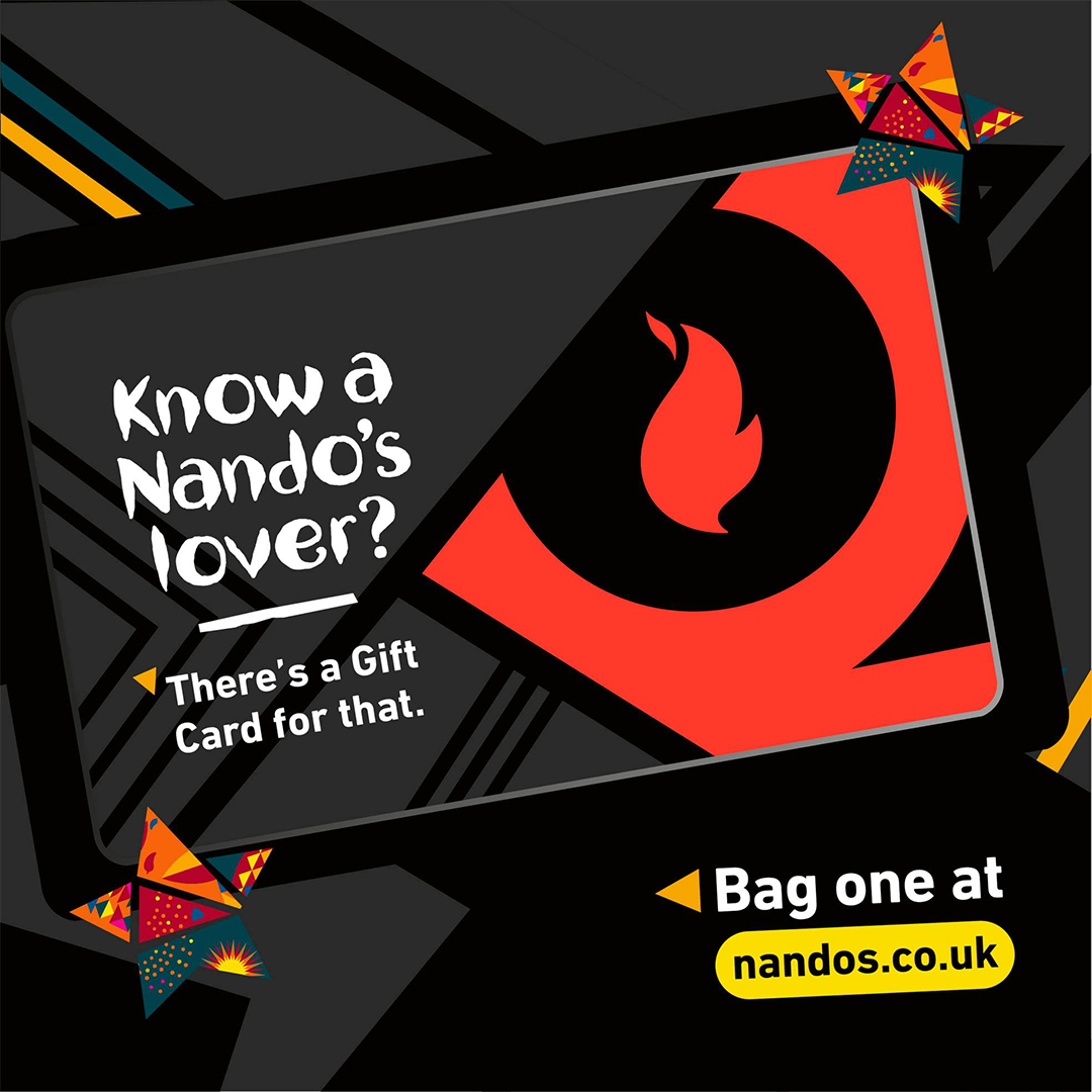 Give the gift of Nando's