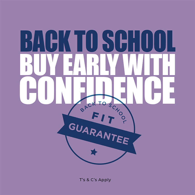 Buy with confidence at Clarks