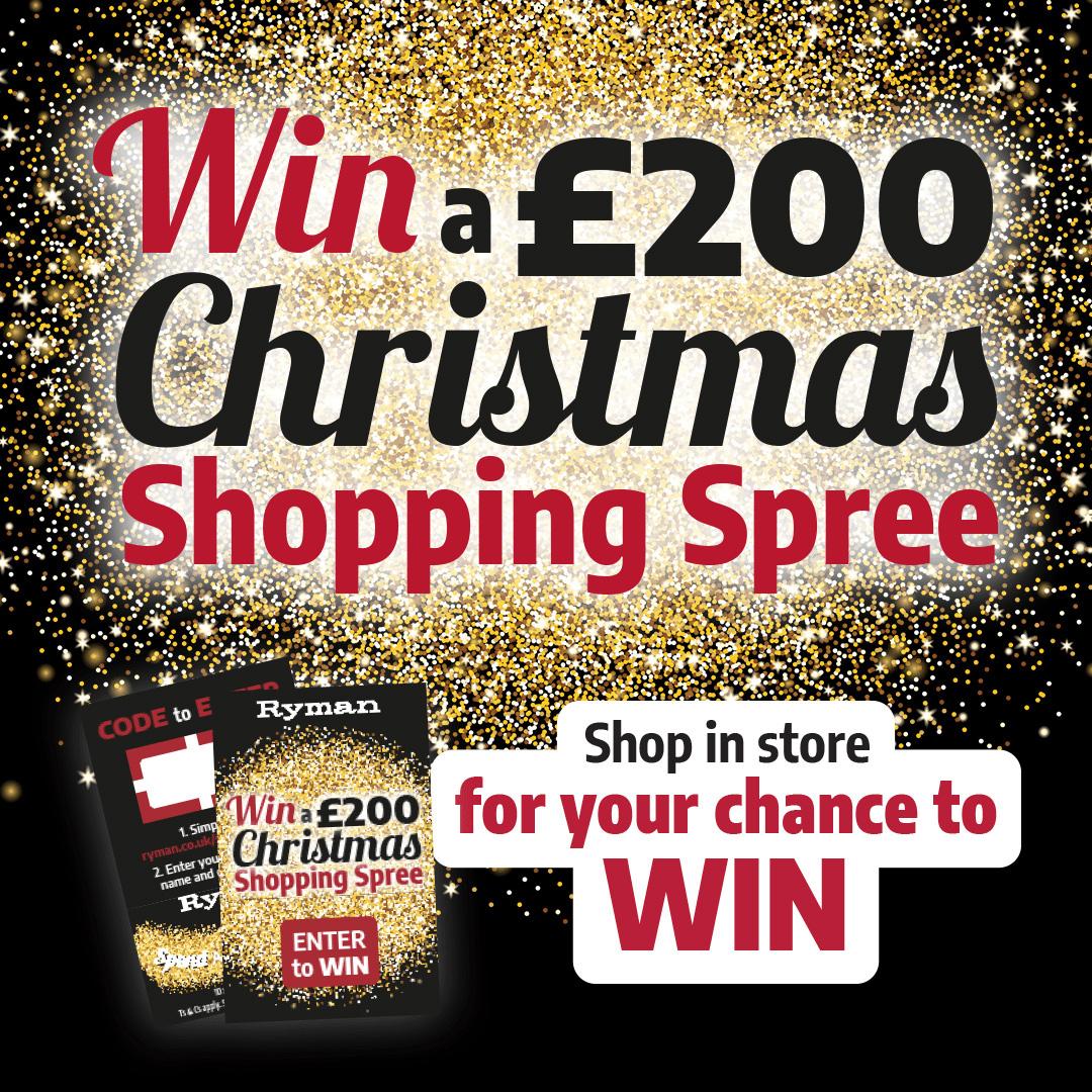 Win a Ryman Shopping Spree