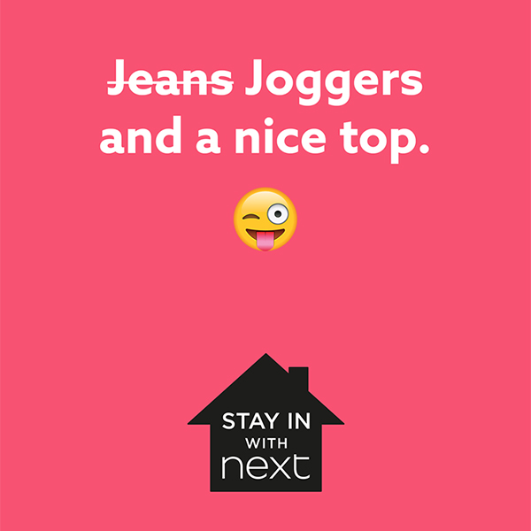 Stay at home with Next
