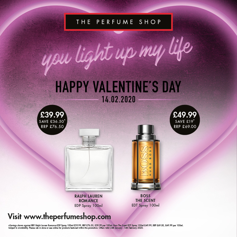 Love for less at The Perfume Shop