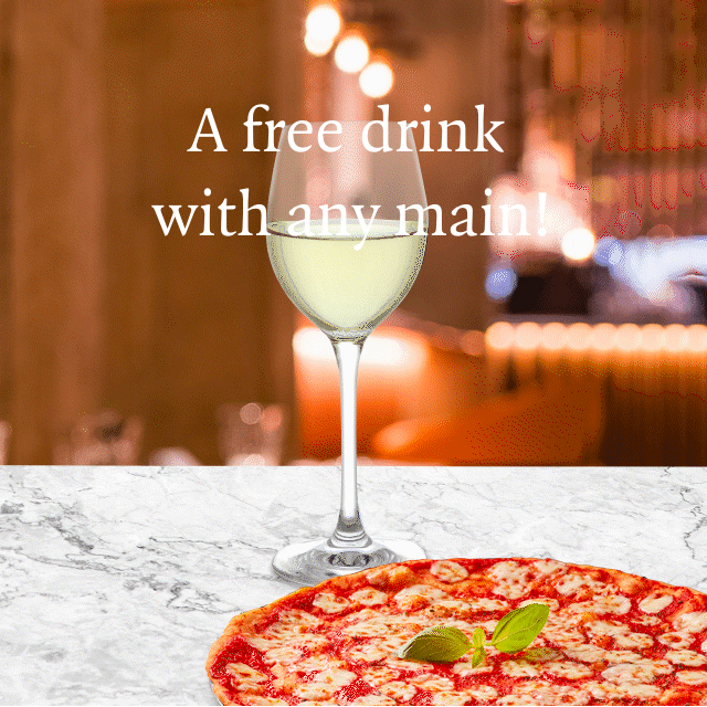 Have a drink on PizzaExpress