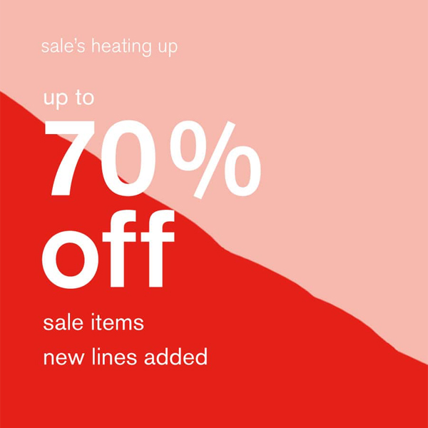 Accessorize with u to 70% off