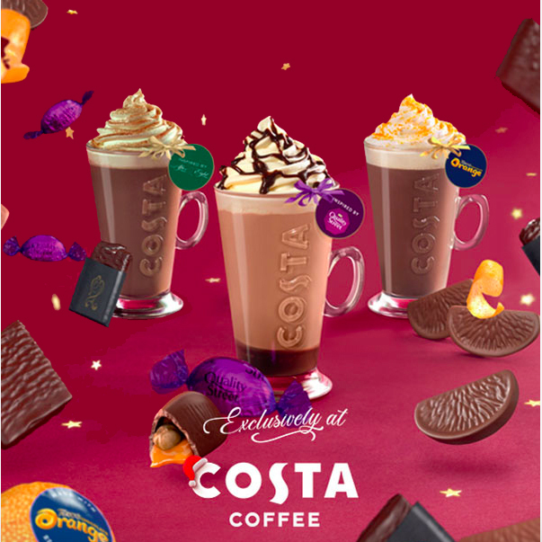 A taste of Christmas is at Costa
