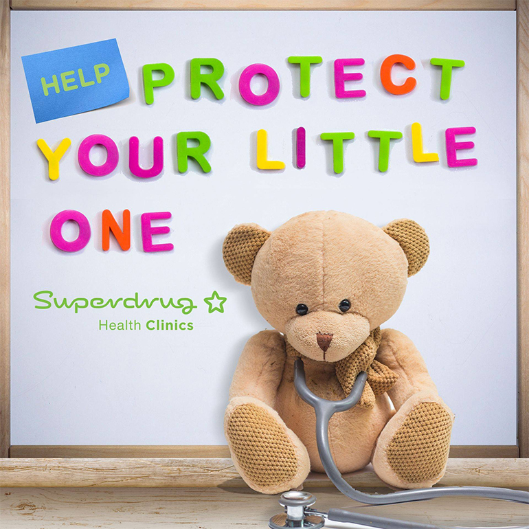 Let Superdrug protect your little one