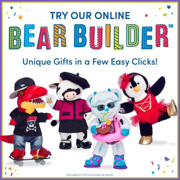 Create with Build-A-Bear