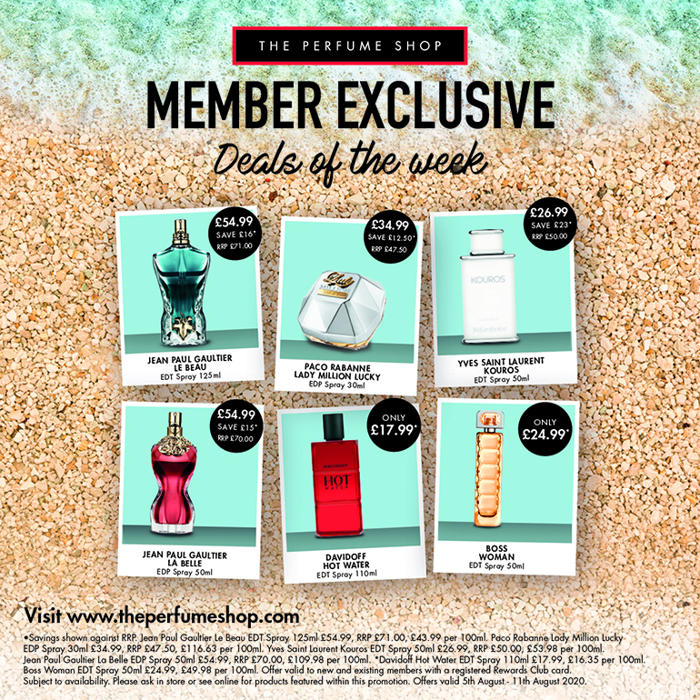Member Exclusive's at The Perfume Shop