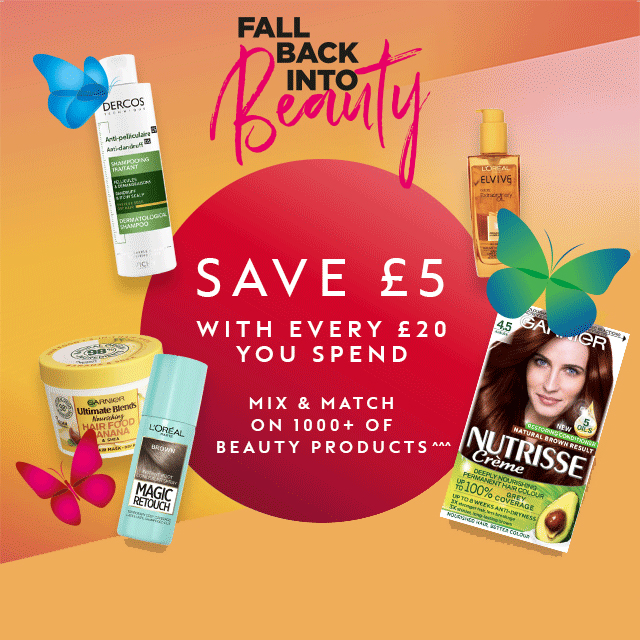 Fall back into beauty at Boots