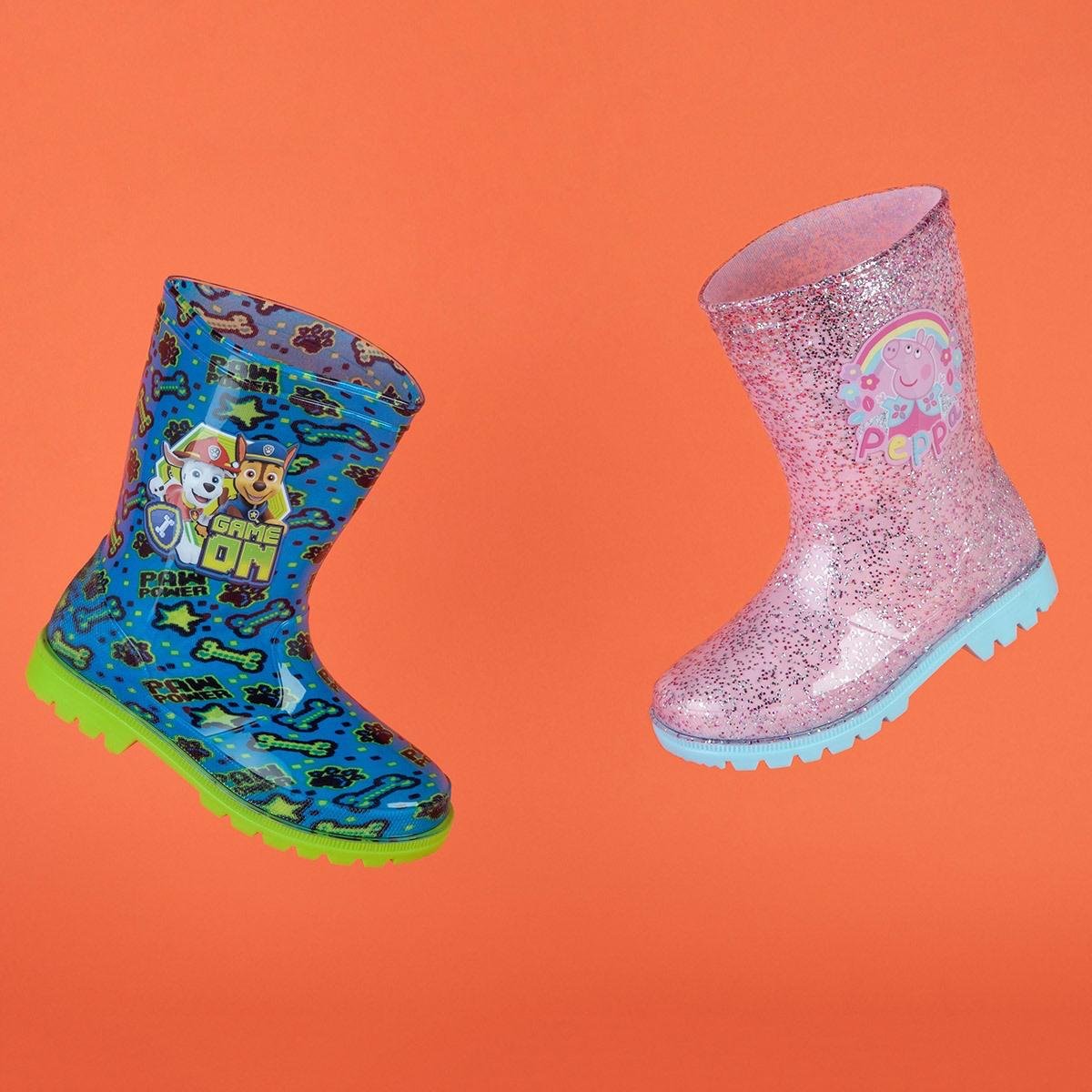 Splashproof your kids at Shoe Zone
