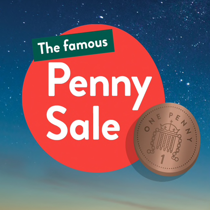 Discover the H&B Penny Sale