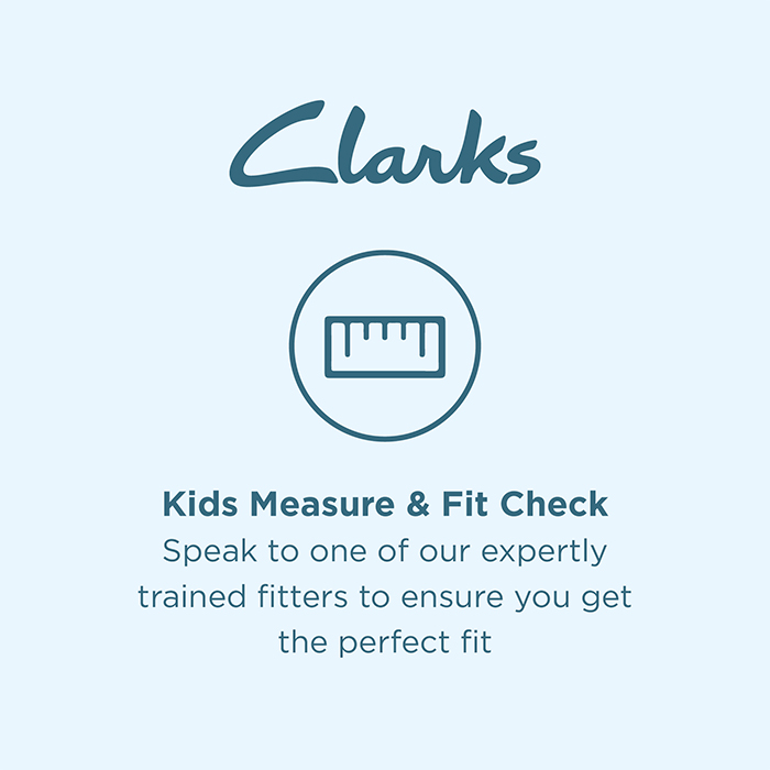 Book a fitting at Clarks