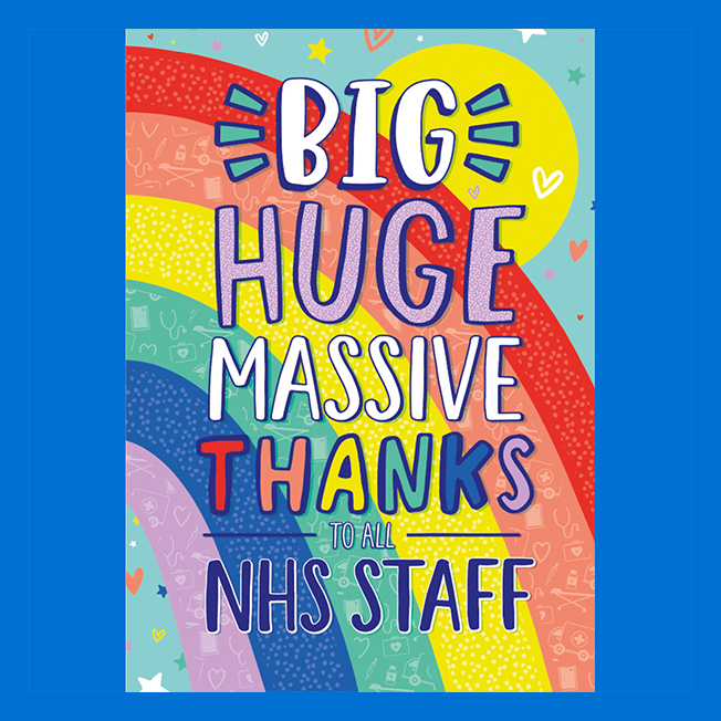 Thank the NHS with Card Factory