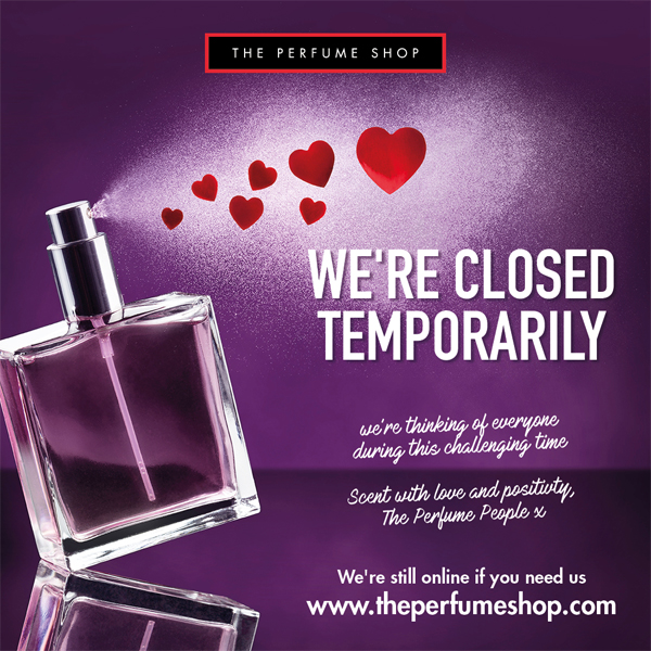 The Perfume Shop will stay with you